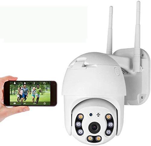 PTZ Telecamera di Sorveglianza Videocamere WIFI Esterno, Aottom 1080P IP Cam Senza Fili 355° /90°, 40M Visione Notturna, Audio a 2 Vie, Motion Detection, Messaggio Push, Supporta Scheda SD 64G
