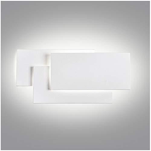 Ralbay Applique da Parete Interni LED 24W 85-265V Lampada a Muro Applique Moderne da Interno e Estero per Decorazione Soggiorno Camera da Letto Bagno IP20