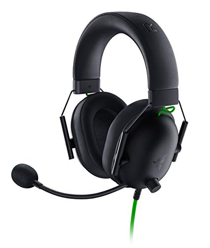 Razer BlackShark V2 X Cuffie da Gioco Esports Cablate Multipiattaforma, Driver da 50 mm, Cancellazione Passiva con PC, Mac, PS4, Xbox One, Switch