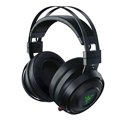 Razer Nari Cuffie da Gioco con THX Spatial Audio, Cuscino in Gel di Raffreddamento, 2.4 GHz Wireless Audio e Microfono con Gioco/Chat Balance