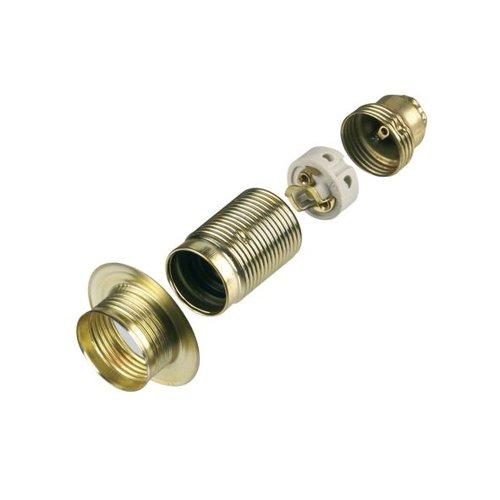 REV Ritter 0503080555 - Portalampada E 14 in metallo