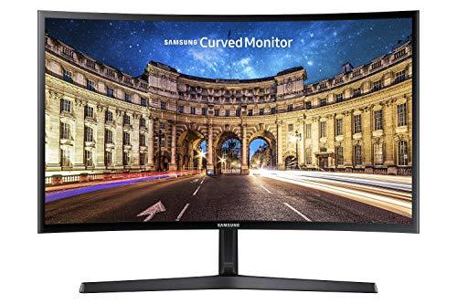 Samsung Monitor PC C24F396 Curvo, 24'' Full HD, 1920 x 1080, 60 Hz, 4 ms, Freesync, Nero
