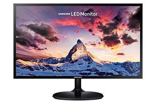 """Samsung S24F350FH Monitor 24"""" Full HD, 1920 x 1080, 60 Hz, 5 ms, D-Sub, HDMI, Pannello PLS, Nero"""