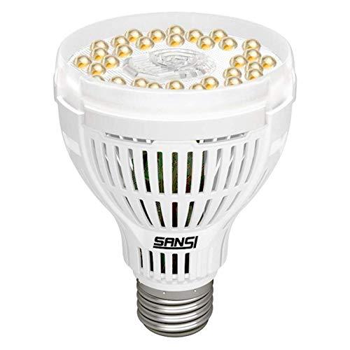 SANSI 15W Lampade per Piante Crescita, E27 Lampade da Coltivazione Indoor Spettro Complete per per l'orticoltura idroponica