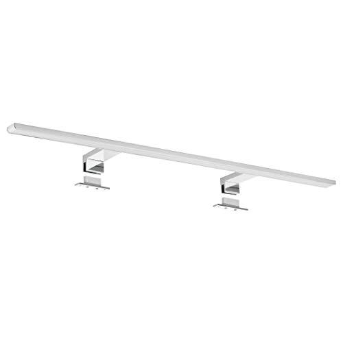 SEBSON® LED Lampada da specchio per bagno 80cm, IP44, lampada morsetto + armadio, Bianco neutro 4000K, 800x108x40mm, 15W, 1000lm