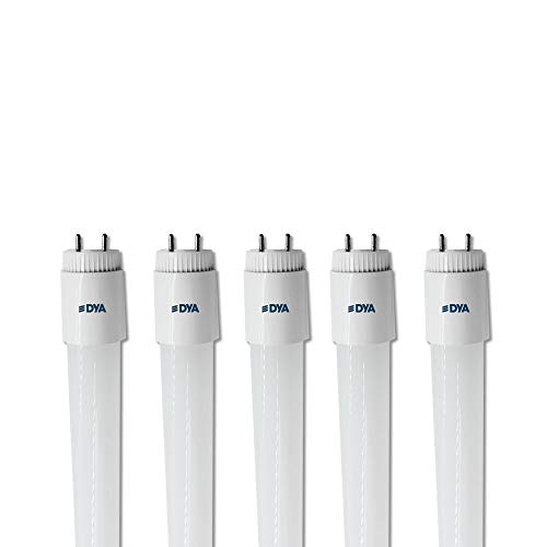 SET DI 5 TUBI LED DYA, attacco G13 - ONE SIDE POWER - (18W 1800 LUMEN 120cm, LUCE FREDDA 6000K)