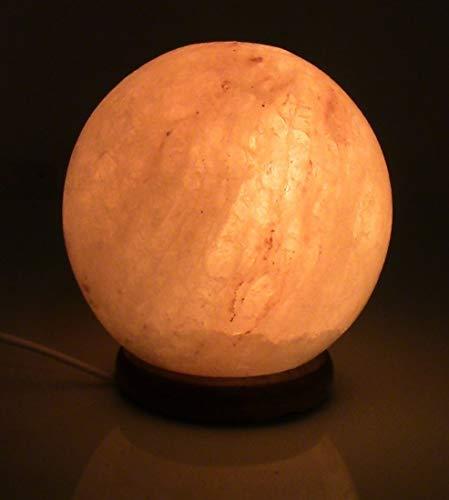 sfera Lampada di sale rosa del himalaya a sfera palla di fuoco cristallo originale garanzia