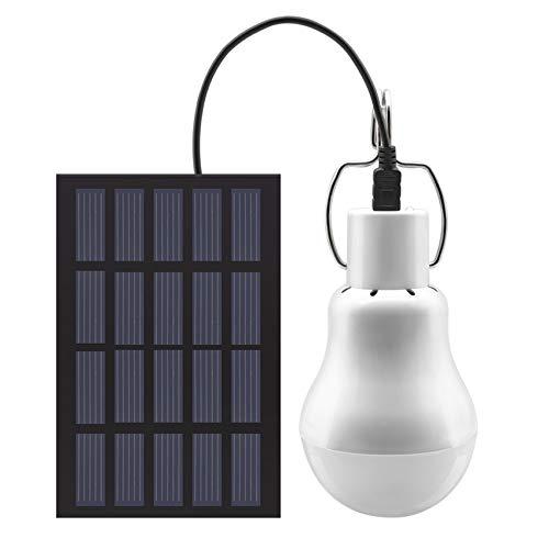 solare lampada LED portatile della di lanterna principale alimentata solare con il pannello solare per l'illuminazione di pesca della tenda da campeggio esterna di hiking