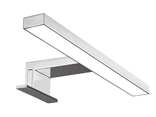 Solupa lampada da specchio LED per bagno FORTUNA – 30CM, 4,8W, 350LM, 220V, 4000K, ABS, IP44 Classe II, non dimmerabile, Installazione a specchio e telaio, luce naturale, 300 mm