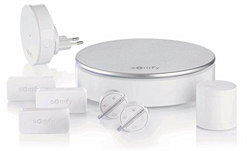 SOMFY 2401497 - Home Alarm, Kit Antifurto WiFi Completo per la Casa, con Sensori di Allarme Pre-Intrusione, App Compatibile con Android/iOS