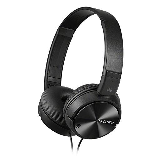 Sony MDR-ZX110NA - Cuffie on-ear con microfono, Eliminazione del rumore, Nero