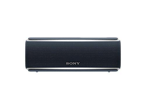 Sony SRS-XB21 Altoparlante Wireless Portatile, Extra Bass, Bluetooth, NFC, Resistente all'Acqua IP67, Batteria 12 ore, Funzione Live, Nero