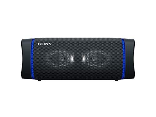 Sony SRS-XB33 - Speaker bluetooth waterproof, cassa portatile con autonomia fino a 24 ore e effetti luminosi (Nero)