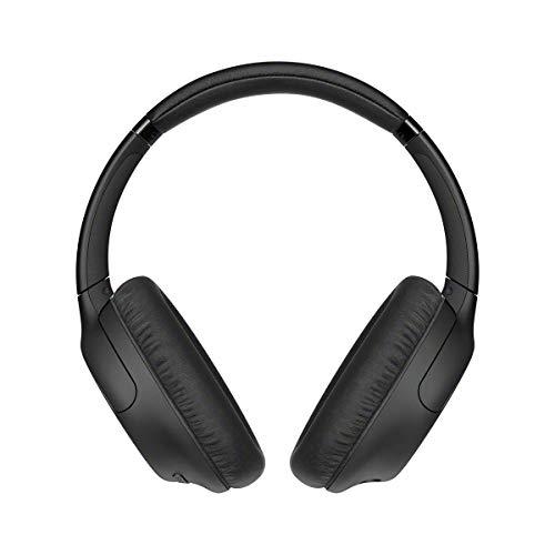 Sony Wh-Ch710N - Cuffie Bluetooth Senza Fili, Over Ear, con Noise Cancelling, Microfono Integrato E Batteria Fino a 35 Ore (Nero)
