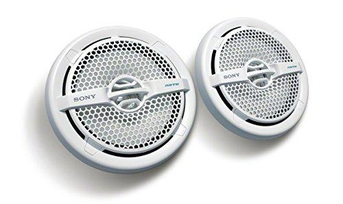 """Sony XS-MP1611 - Speaker per uso nautico a doppio cono da 16 cm (6.5""""), IPX5 resistente all'acqua salata e ai raggi UV, potenza 140 Watt"""