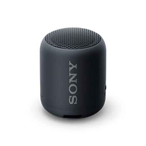 SRS-XB12 - Speaker wireless portatile con EXTRA BASS, Impermeabile e resistente alla polvere IP67, Batteria fino a 16 ore, Bluetooth, Nero