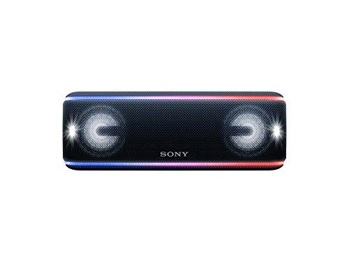 SRS-XB41 - Speaker wireless portatile con EXTRA BASS, Impermeabile e resistente alla polvere IP67, Effetti luminosi, Batteria fino a 24 ore, Bluetooth, NFC, Nero