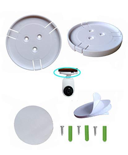 Staffa Di Montaggio Per Yi Home Camera , Consente Di Appendere La Fotocamera A Parete, Facile Da Installare, Applicare Per Quasi Tutti I Tipi Di Superficie (Confezione Da 2)