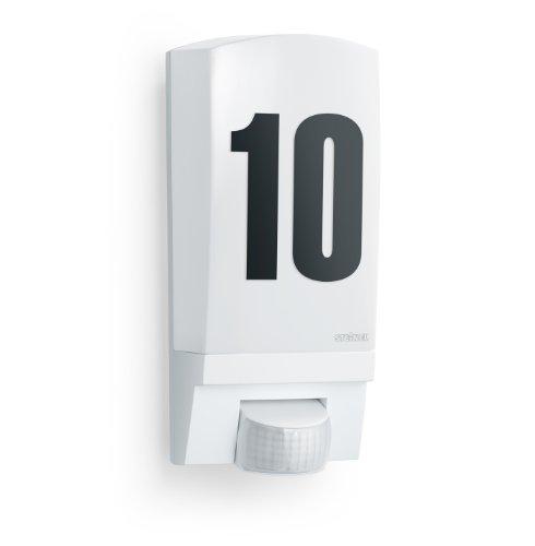 Steinel 650513 Lampada per Esterni con Sensore L 1, Bianco