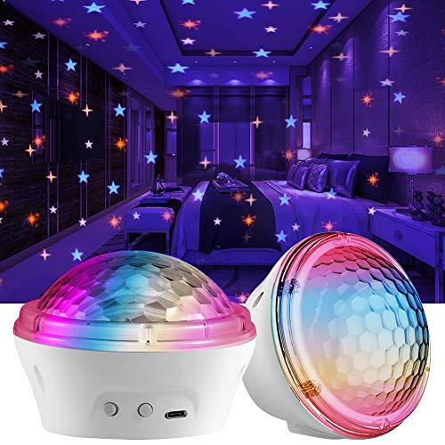 Stella Proiettore Luce notturna, Petrichor Proiettore di luce stellata LED con 4 modalità e impostazione timer, per bambini bambini adulti, camera da letto soggiorno decorazione del partito