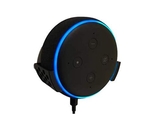 Supporto da parete – Amazon Alexa Echo Dot 3a generazione Altoparlante intelligente con Alexa colore nero