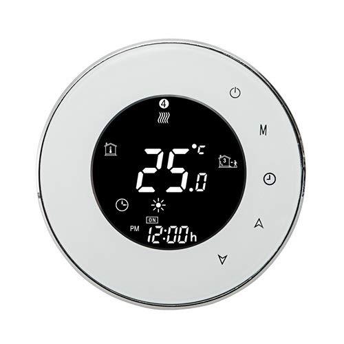 T-storm Termostato Smart Wi-Fi per controllo caldaia compatibile con scatola 86x86 - compatibile con Alexa e Google Home e IFTTT