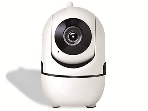 Telecamera di Sorveglianza WiFi. Denver SHC-150. Videocamera IP Interno Wireless. Sensore CMOS da 1 Mpixel - Compatibile con TUYA Smart Home. Infrarossi per uso notturno. Audio Bidirezionale