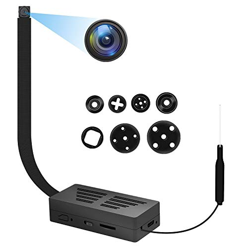Telecamera Spia WiFi Mini Telecamera Nascosta 1080P HD Videocamera portatile wireless Videoregistratore Videocamere IP con rilevazione di movimento Videocamera di Sicurezza (solo 2.4G)