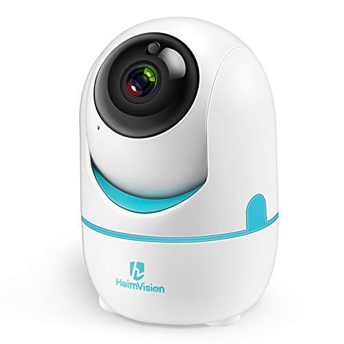 Telecamera Wi-Fi Interno da 3MP/1536P, Telecamere Videosorveglianza con Visione Notturna, Audio Bidirezionale, Camera WiFi con Sensore PIR, Tracciatore di Movimenti e Cloud