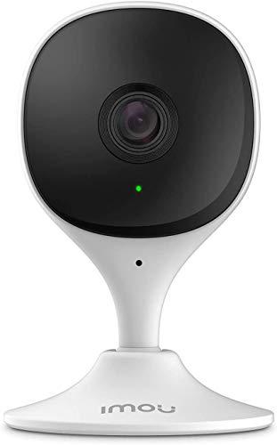 Telecamera Wi-Fi Interno, Imou Telecamera di Sicurezza con Rilevazione del Movimento Umano & Visione Notturna, 1080P Baby Monitor, Allarme di Suoni Anormali, Compatibile con Alexa/Google