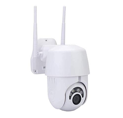Telecamera Wifi Esterno, KuWFi Telecamera IP 1080P PTZ per telecamera di sorveglianza esterna di sicurezza domestica Telecamera da esterno compatibile con supporto IOS / Android Onvif