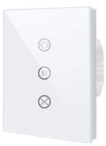 Timer per tapparelle, interruttore smart WiFi, compatibile con Alexa Echo e Google Assistant, telecomando di applicazione e funzione timer [A-Level energy+]