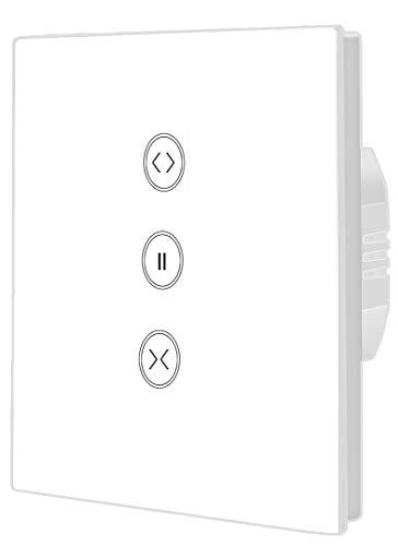 Timer per tapparelle, interruttore smart WiFi, compatibile con Alexa Echo e Google Assistant, telecomando di applicazione e funzione timer, 1 pezzo