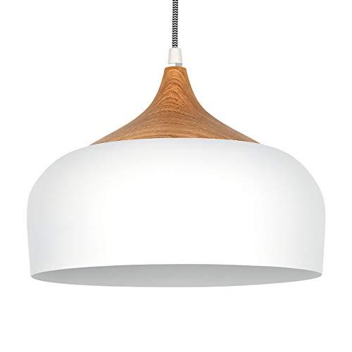 tomons Lampada a Sospensione Lampada a Soffitto a LED Bianco Scandinavo Moderno Stile per il Soggiorno in Sala da Pranzo Ristorante