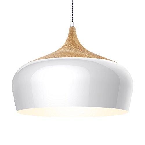 Tomons Lampada da soffitto, lampada a sospensione con lampadina da LED 8W