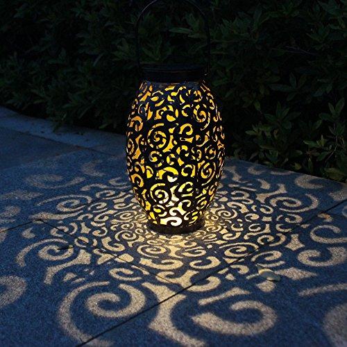Tomshine Lanterna LED Solari Luci Solari Giardino Forma di Nuvola Appeso Lampada Solare LED Lanterna da Giardino, IP44 Impermeabile LED Decorative per Giardino Balcone
