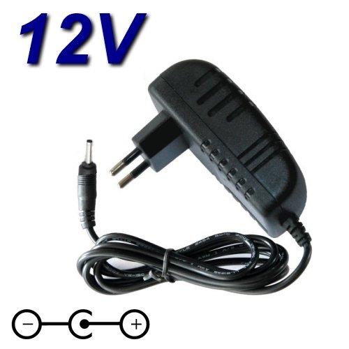 TOP CHARGEUR * Adattatore Caricatore Caricabatteria Alimentatore 12V per Alexa Amazon Echo Dot 3ª generazione/Echo Spot e Fire TV Cube