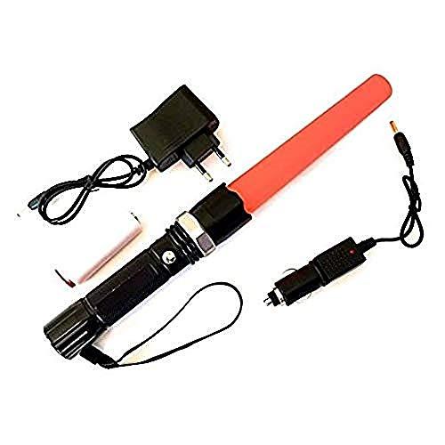 Torcia LED ricaricabile Alta Potenza SOS