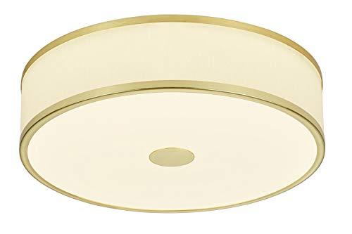 Trio Lampada da soffitto 24 W, Ottone Opaco