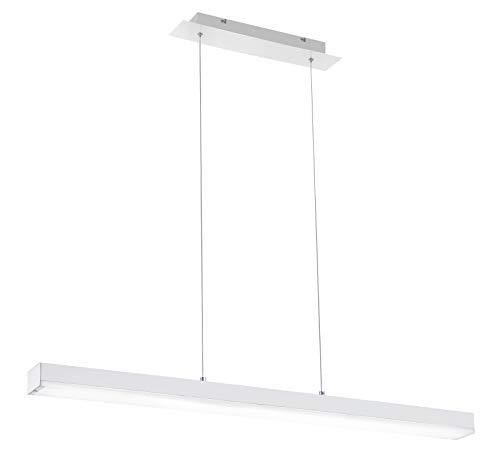 Trio Leuchten Smart Home - Lampada a sospensione, in metallo, colore: Bianco opaco