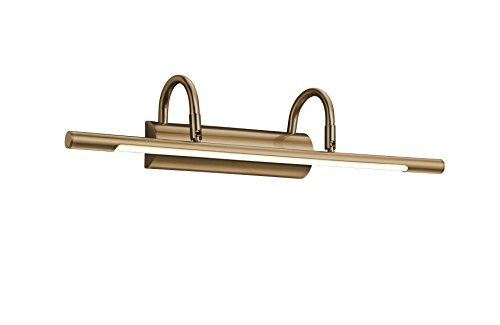 Trio Leuchten Trio 225210104 Applique LED per Quadro, 48 cm, Bronzo