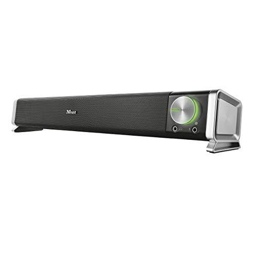Trust 21046 Asto Altoparlante Standard per PC da 12 W, Alimentazione USB, Nero