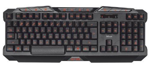 Trust GXT 280 LED Illuminated Gaming Keyboard Tastiera