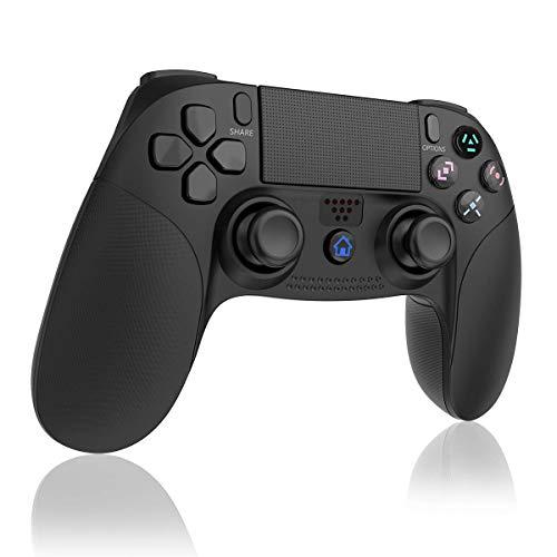 TUTUO Wireless Controller per PS4, Classici Bluetooth Controller Gamepad Joystick Playstation 4 Controller di Gioco Senza Fili con Joypad del Dualshock per PS4 Slim/PRO And PS3