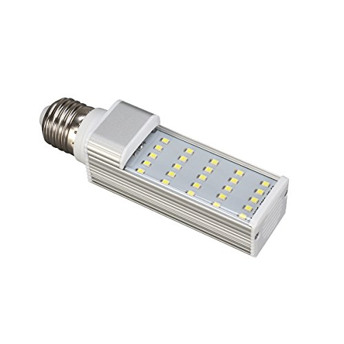 UEETEK Lampadina LED per Acquario di 5W E27 Risparmio energia con Luce Bianca