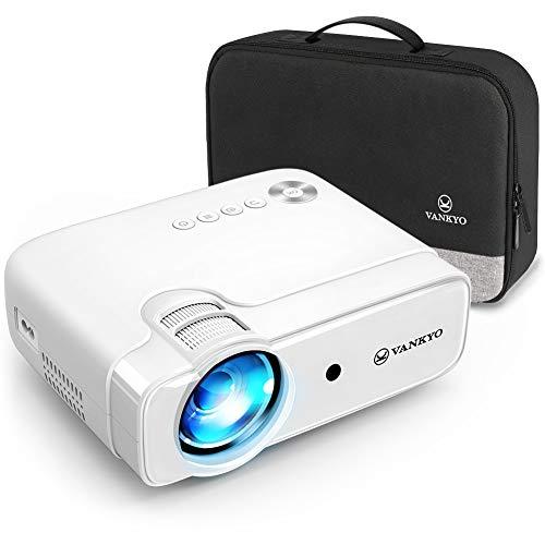 VANKYO Leisure 430 Proiettore, Videoproiettore Supporta 1080P, HiFi Speaker, con Borsa Portatile, per TV Stick iOS/Android/Entry-Level/Regalo