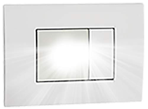 vemer VE771300 Orion Lampada di Emergenza Estraibile da Incasso di Dimensioni compatte, Bianco Opale