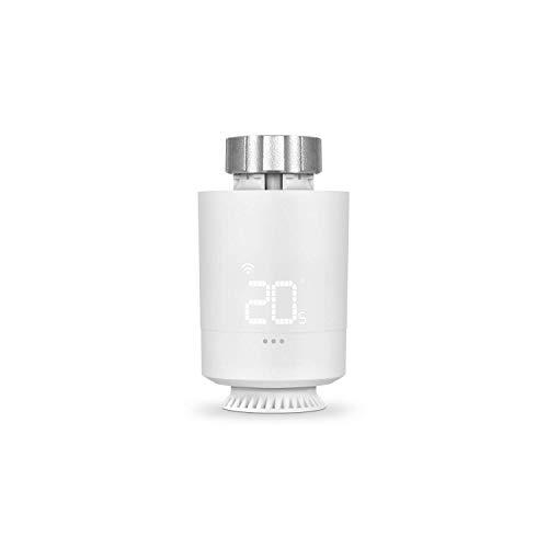 Vesta Valve - Valvola termostatica Wi-Fi, controllo intelligente del riscaldamento tramite SPC IoT App, Amazon Alexa, Google Assistant