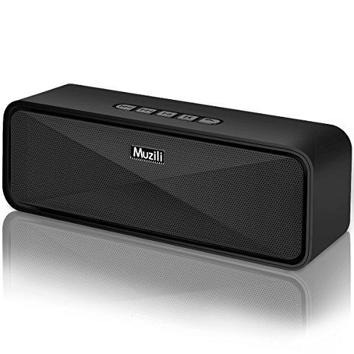 Vigorun Casse Portatili Bluetooth, Muzili Altoparlante Bluetooth V5.0 Speaker Senza Fili Microfono Incorporato/modalità AUX/Scheda TF/USB