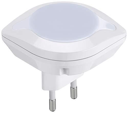 Vimar 0A33101 Luce notturna LED con sensore crepuscolare 220-230 V, 50/60Hz, 0,4W